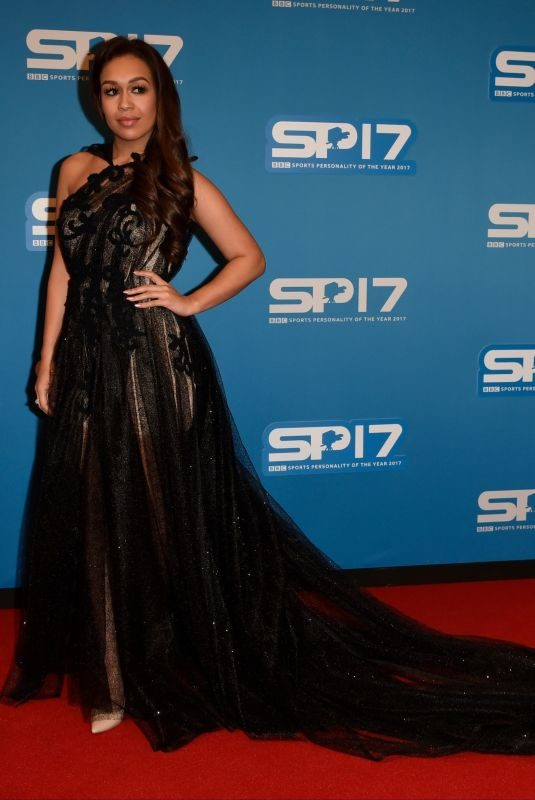 REBECCA FERGUSON at BBC Sports Personality of the Year Awards in Liverpool 12/17/2017