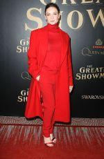 REBECCA FERGUSON at The Greatest Showman Premiere in New York 12/08/2017