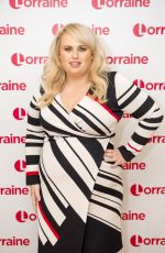 REBEL WILSON at Lorraine Show in London 12/20/2017