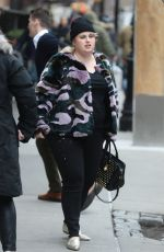 REBEL WILSON Out in New York 12/22/2017