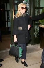 REESE WITHERSPOON Leaves Her Hotel in New York 11/28/2017