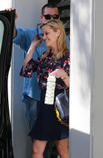 REESE WITHERSPOON Leaves Her Office in Beverly Hills 12/05/2017