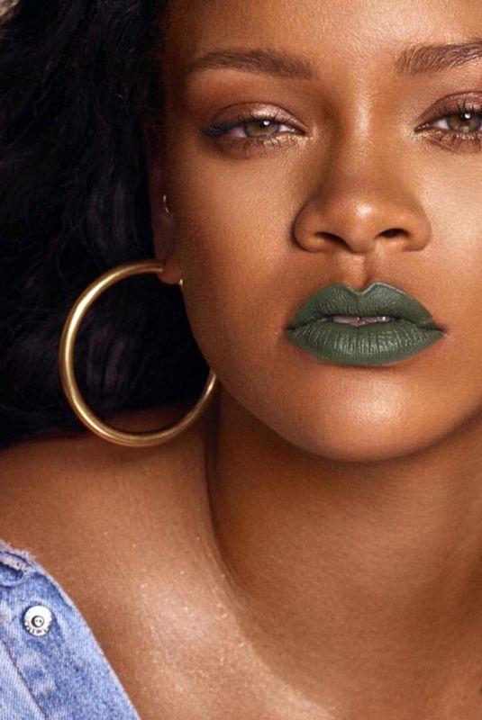 RIHANA for Mattemoiselle, Her Fenty Cosmetics Brand