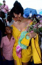 RIHANNA at Opening Ceremony of New Road Named Rihanna Drive in Barbados 11/30/2017