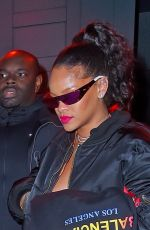 RIHANNA Night Out in New York 12/09/2017