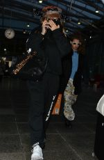 RITA ORA Arrives at Heathrow Airport in London 12/08/2017