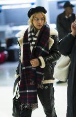 RITA ORA at JFK Airport in New York 12/18/2017
