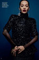 RITA ORA for Vogue Magazine, Russia  January 2018