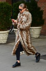 RITA ORA Leaves Bowery Hotel in New York 12/19/2017
