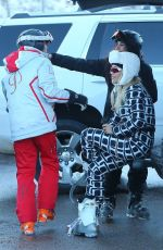 RITA ORA Out and About in Aspen 12/28/2017