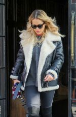 RITA ORA Out and About in London 12/21/2017