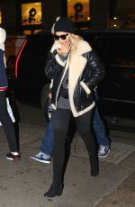 RITA ORA Shopping at Prada Store in London 12/21/2017