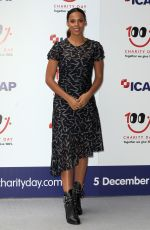 ROCHELLE HUMES at Icap Charity Day in London 12/05/2017