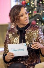 ROCHELLE HUMES at This Morning Show in London 12/21/2017