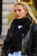 ROMEE STRIJD Out and About in New York 12/02/2017
