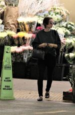 ROONEY MARA Leaves a Grocery Store in Beverly Hills 12/09/2017