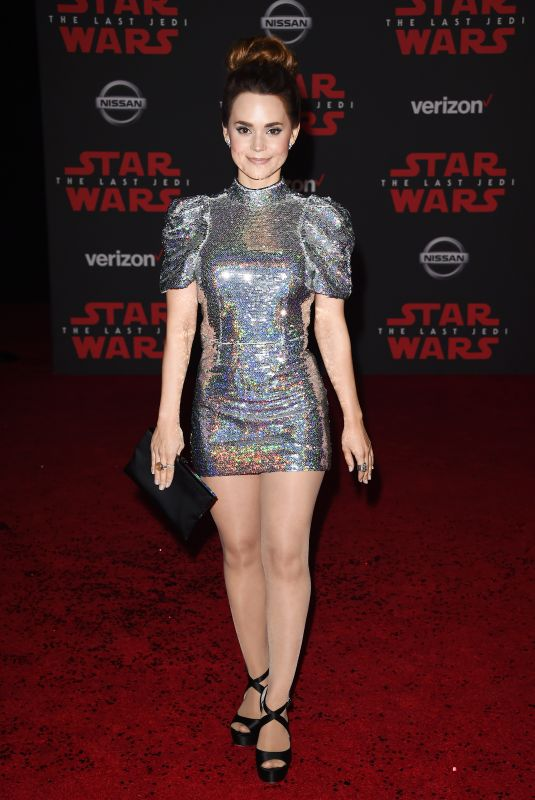 ROSANNA PANSINO at Star Wars: The Last Jedi Premiere in Los Angeles 12/09/2017