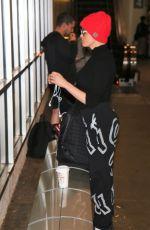 ROSE MCGOWAN at LAX Airport 12/26/2017