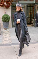 ROSIE HUNTINGTON-WHITELEY Leaves Her Hotel in New York 12/06/2017