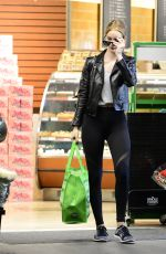 ROSIE HUNTINGTON-WHITELEY Out Shopping in Los Angeles 12/31/2017