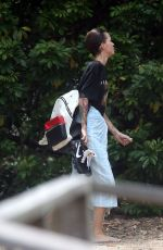 RUBY ROSE and JESSICA ORIGLIASSO at a Beach in Byron Bay 12/02/2017