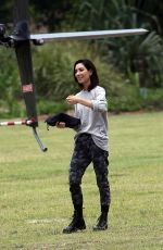 RUBY ROSE and JESSICA ORIGLIASSO at Heli Tour in Byron Bay 12/03/2017