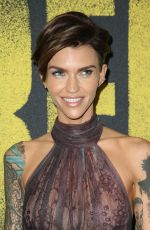 RUBY ROSE at Pitch Perfect 3 Premiere in Hollywood 12/12/2017
