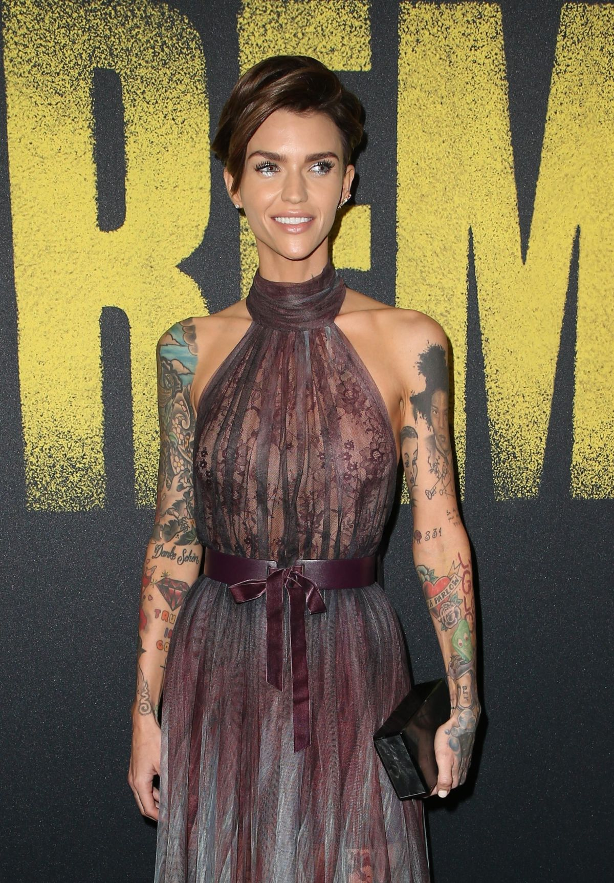 Ruby Rose At Pitch Perfect 3 Premiere In Hollywood 12 12