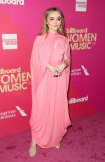 SABRINA CARPENTER at 2017 Billboard Women in Music Awards in Los Angeles 11/30/2017