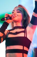 SABRINA CARPENTER Performs at Y100 Jingle Ball in Sunrise Florida 12/17/2017