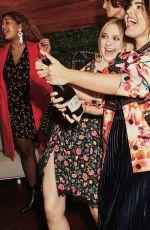 DAKOTA FANNING and ALESSANDRA GARCIA-LORIDO in Glamour Magazine, January 2018