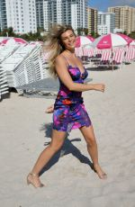 SAMANTHA HOOPES at Sports Illustrated Swimsuit Island at W Hotel in Miami 12/07/2017