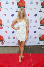 SAMANTHA JADE at Woolworths Carols in the Domain Pre-show VIP Party in Sydney 12/17/2017