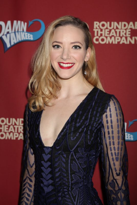 SAMANTHA STURM at Benefit Concert Reading of Damn Yankees in New York 12/11/2017