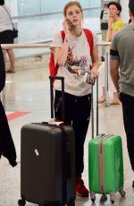 SAMARA WEAVING Arrives at Airport in Sydney 12/14/2017