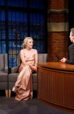 SAOIRSE RONAN at Late Night with Seth Meyers in New York 11/28/2017