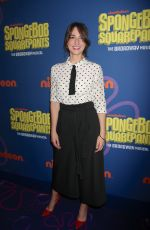 SARA BAREILLES at Spongebob Squarepants Opening Night on Broadway in New York 12/04/2017