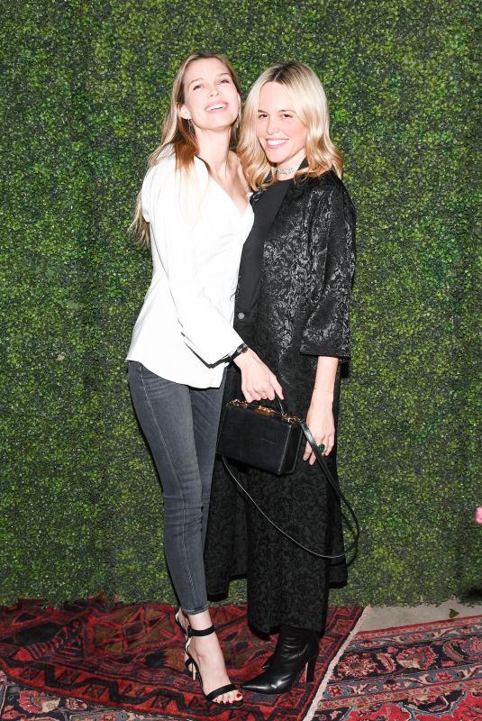 SARA FOSTER and ALI WISE at Aalice & Olivia Denim Launch Party in Los Angeles 11/30/2017