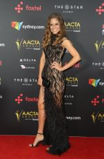 SARAH BISHOP at 2017 AACTA Awards in Sydney 12/06/2017