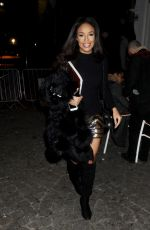 SARAH-JANE CRAWFORD at Notion Magazine Issue 78 Party in London 12/19/2017