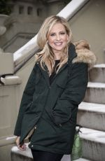SARAH MICHELLE GELLAR at Foodstirs Chat for Facebook Live in New York 12/15/2017