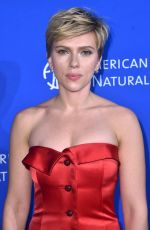 SCARLETT JOHANSSON at American Museum of Natural History
