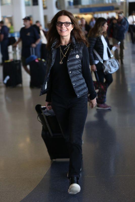 SELA WARD at Los Angeles International Airport 12/02/2017