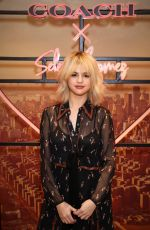 SELENA GOMEZ at Coach House Regent Street to Celebrate Selena Grace Bag in London 12/04/2017