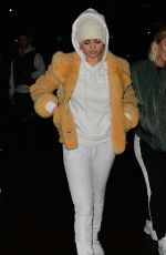 SELENA GOMEZ at Winter Wonderland in London 12/03/2017