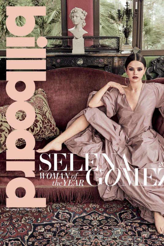 SELENA GOMEZ in Billboard Magazine, December 2017