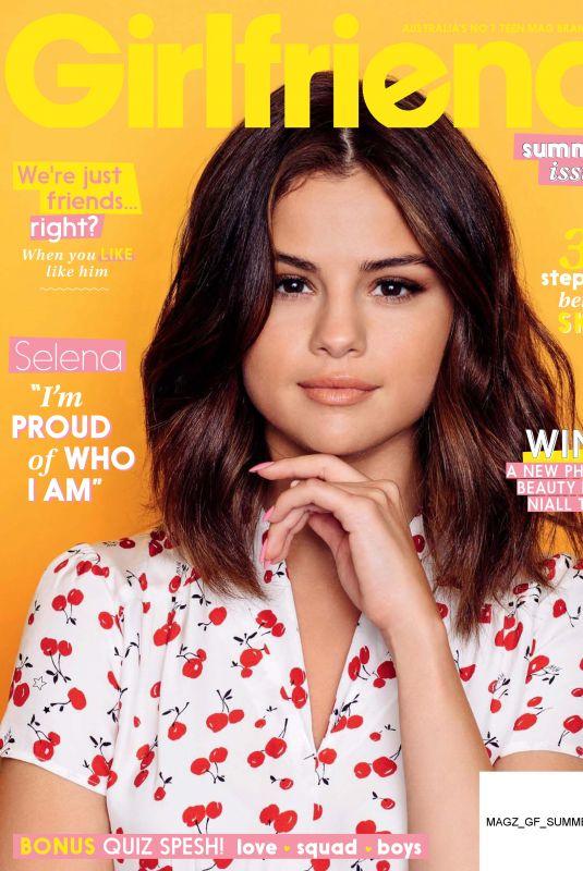 SELENA GOMEZ in Girlfriend, Summer 2017 Issue