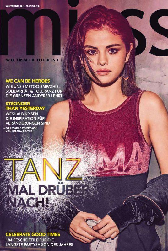 SELENA GOMEZ in Miss Magazine, Winter 2017/2018
