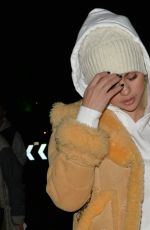 SELENA GOMEZ Night Out in London 12/03/2017