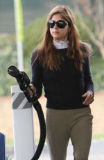 SELMA BLAIR at a Gas Station in Los Angeles 12/23/2017